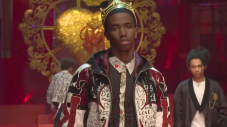 Watch: 'Dolce & Gabbana 2018 Fashion Show (Featuring Christian Combs & Cordell Broadus)'
