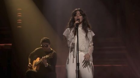 Watch: Camila Cabello Performs 'Crying In The Club' On 'Fallon'