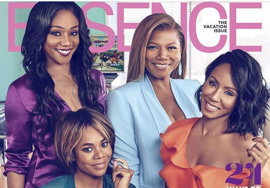 Girls Trip Cast Cover Essence Magazine That Grape Juice