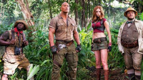 Movie Trailer: 'Jumanji: Welcome To The Jungle' [Starring Dwayne Johnson & Kevin Hart]