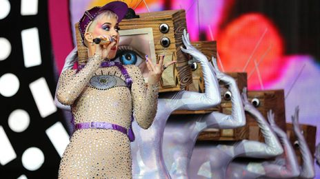 Did You Miss It?  Katy Perry Glows At Glastonbury [Watch Full Concert]