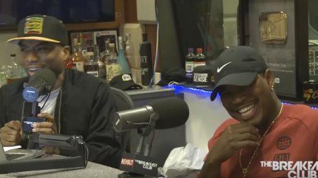 Watch: Ne-Yo Visits 'The Breakfast Club' / Talks New Album 'Good Man,' Tank's Pride Performance, & More