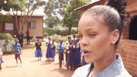 Watch: Rihanna Promotes Education In Malawi
