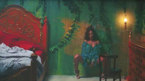 Hot Shots: Rihanna Frolics With Mystery Man