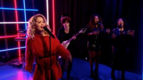 Watch: Rita Ora Rocks 'The One Show' With 'Your Song'