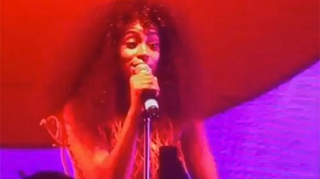 Amazing: Solange Performs 'The Proud Family' Theme & Crowd Join In