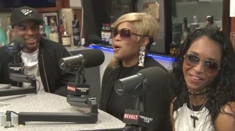 TLC Visit 'The Breakfast Club' / Chilli & Charlamagne Clash In Tense Interview