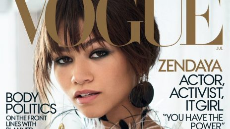 Major! Zendaya Lands Vogue Cover