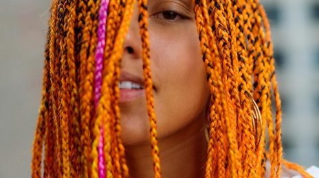 Alicia Keys Debuts New Orange Hair Do