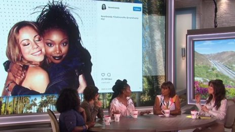 "#ICYMI:  Brandy Clears Up Mariah Carey/Jennifer Lopez ""Shade"" With 'The Talk'"