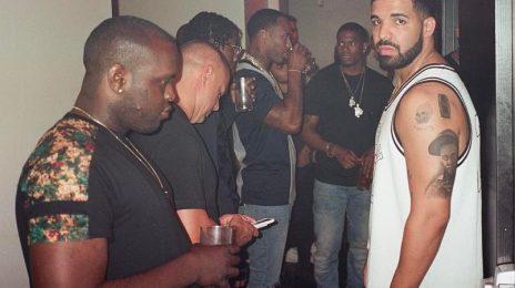 Drake Gets A Tattoo Of...Lil Wayne [Photos]