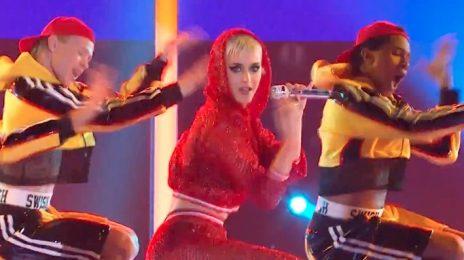 Watch: Katy Perry Rocks 'The Voice AU' With 'Swish Swish'