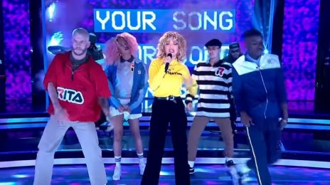 Watch: Rita Ora Performs 'Your Song' On BBC Pitch Battle Final