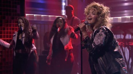 Watch: Rita Ora Rocks 'Fallon' With 'Your Song'