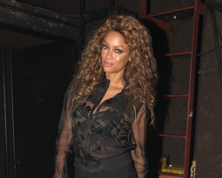 Tyra Banks & Jaden Smith Party In Los Angeles