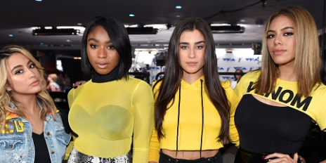 Hot Shots: Fifth Harmony Rehearse For Epic VMA Performance