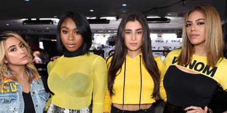 Hot Shots: Fifth Harmony Rehearse For Epic VMA Performance