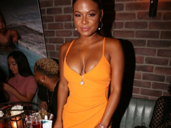 DJ Khaled Parties With Christina Milian, Jay Brown & More At 'The Platinum Party'