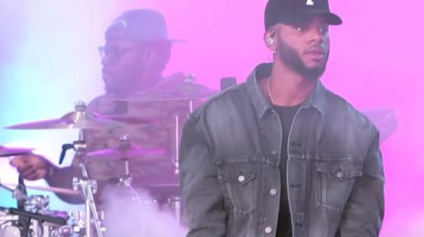 Watch: Bryson Tiller Performs 'Run Me Dry' On 'Kimmel'