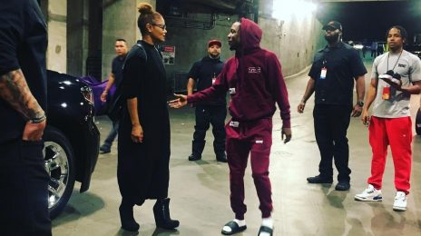 Hot Shot: Janet Jackson Meets Kendrick Lamar At 'The DAMN Tour'