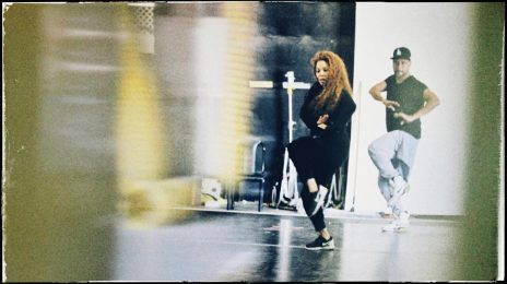 Janet Jackson Shares 'State Of The World Tour' Rehearsal Snap