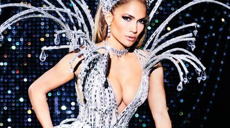 Jennifer Lopez Sparkles For PAPER