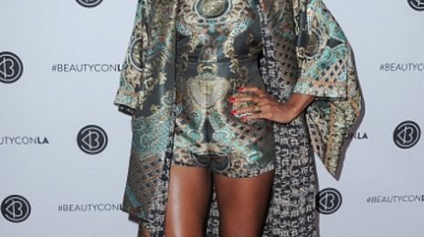 Hot Shots: Kelly Rowland Slays At BeautyCon LA 2017