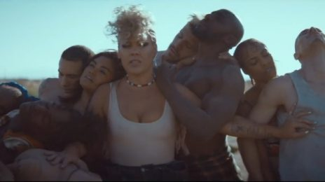New Video: Pink - 'What About Us'