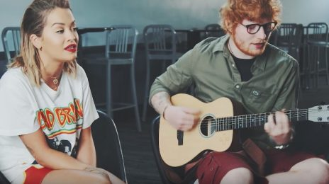Watch: Rita Ora & Ed Sheeran Perform 'Your Song' Together