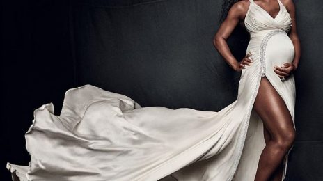 Pregnant Serena Williams Stuns For Vogue Magazine