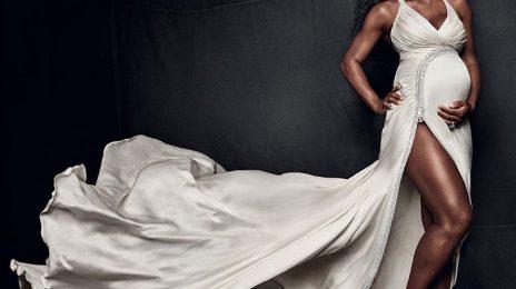 Pregnant Serena Williams Stuns For Vogue Magazine