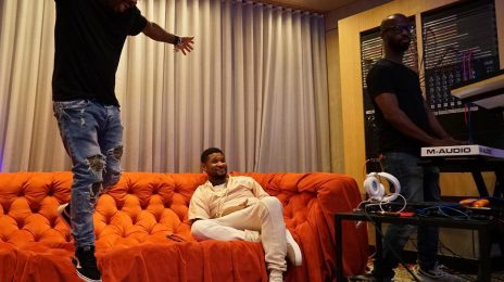 Hot Shots: Usher Returns To Studio Amidst Herpes Drama