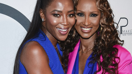 Naomi Campbell & Iman Reunite In New York City