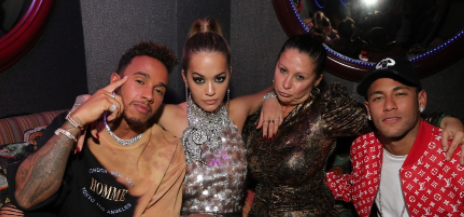 Hot Shots: Rita Ora & Lewis Hamilton Party With 'Miu Miu'