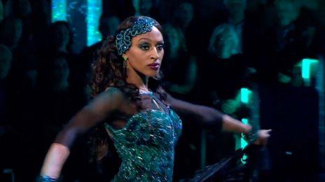 Watch: Alexandra Burke Amazes On 'Strictly Come Dancing' [Week 2]