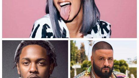 BET Hip-Hop Awards 2017: Cardi B, Kendrick Lamar, & DJ Khaled Lead Nominations [Full List]