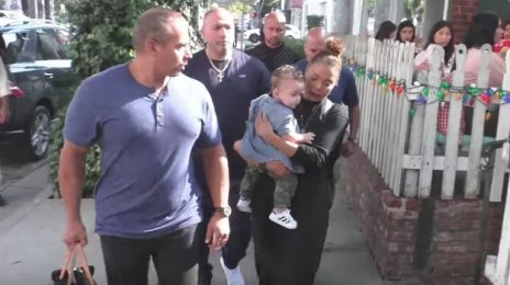 Spotted: Janet Jackson & Baby Eissa In West Hollywood