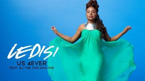 New Song:  Ledisi Ft. BJ the Chicago Kid - 'Us 4Ever'