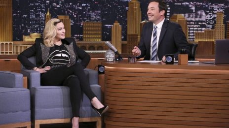 Watch:  Madonna Impersonates Kim Kardashian & More on 'The Tonight Show'