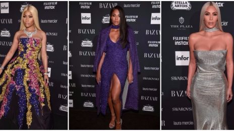 Hot Shots: Nicki Minaj, Ciara, Kim Kardashian, & More Shine At Harper's Bazaar 'ICONS' Gala