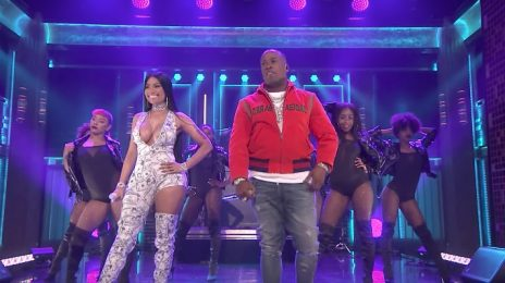 Watch: Nicki Minaj & Yo Gotti Perform 'Rake It Up' On 'Fallon'