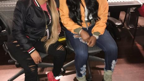 Hot Shot: Remy Ma Hits The Studio With Lil Kim