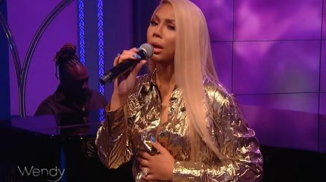 "Watch: Tamar Braxton ""Belts"" 'Blind' On 'Wendy'"