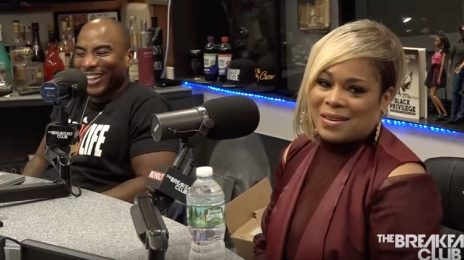 Watch: TLC's T-Boz Visits 'The Breakfast Club' / Talks Autobiography, Sickle-Cell, Pebbles, Aretha Franklin Beef & More