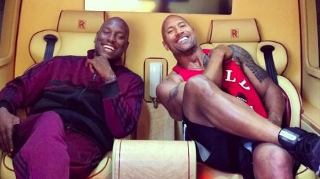 Drama! Tyrese Slams The Rock Over 'Fast & Furious' Spin-Off