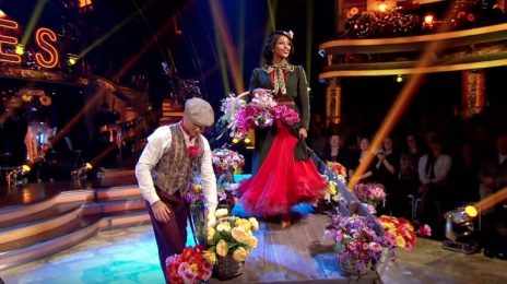 Watch: Alexandra Burke Dazzles On 'Strictly Come Dancing' [Week 3]