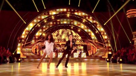 Watch: Alexandra Burke Electrifies On 'Strictly Come Dancing' With 'Proud Mary' [Week 4]