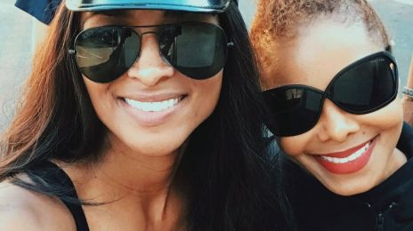 Janet Jackson & Ciara Hang Out Together At Disneyland [Photos]