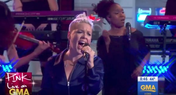 Good Morning America Jobs : Watch pink performs on good morning america that