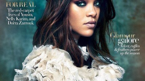 Breathtaking! Rihanna Shares More From VOGUE Arabia Spread